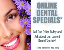 Online Dental Specials